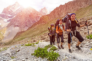 Trekking in the Dolomites of South Tyrol
